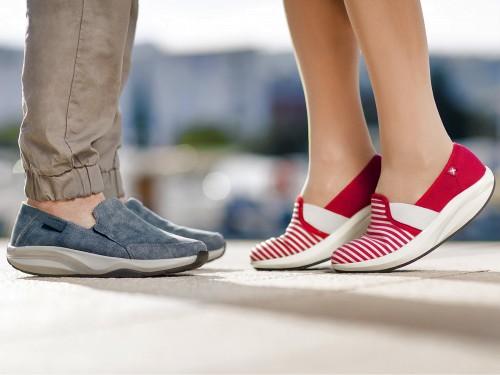 Comfort női vászoncipő Walkmaxx