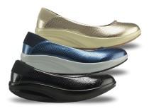 Comfort Elegáns Balerina cipő Walkmaxx
