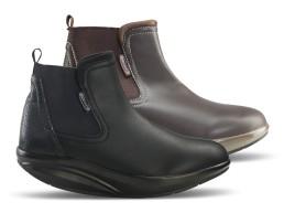 Comfort alkalmi magasszárú női cipő
