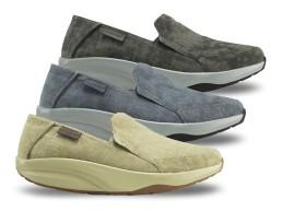 Comfort férfi vászoncipő
