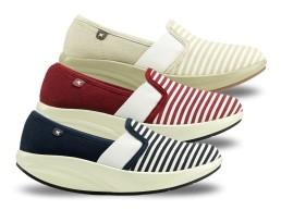 Comfort női vászoncipő