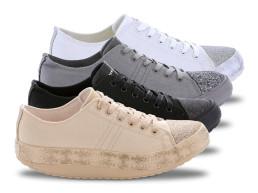 Trend csillámos szabadidőcipő