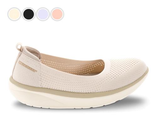 Comfort kötött balerina cipő