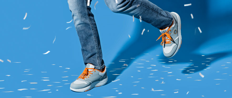 Fit szabadidőcipő